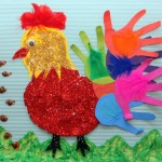 hen craft project