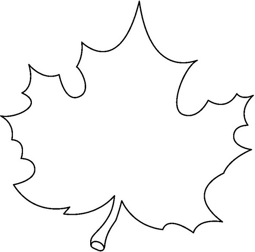 leaf pattern coloring