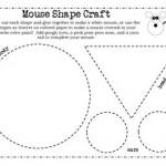 mouse shape craft