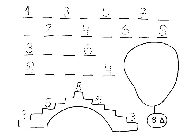 number eight 8 coloring and tracing worksheets  (16)