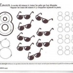 number eight 8 coloring and tracing worksheets  (18)
