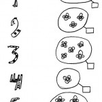 number five 5 coloring and tracing worksheets  (15)