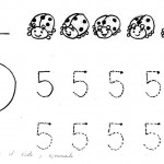 number five 5 coloring and tracing worksheets  (16)