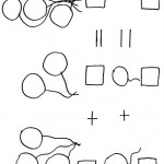 number five 5 coloring and tracing worksheets  (20)