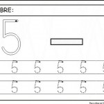 number five 5 coloring and tracing worksheets  (28)