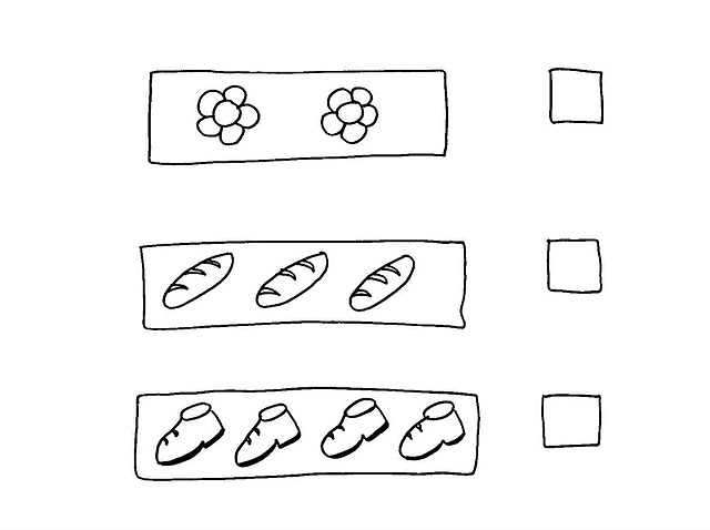 number four 4 coloring and tracing worksheets  (13)