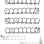 number seven 7 coloring and tracing worksheets (7)