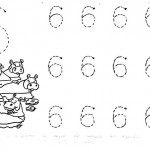 number six 6 tracing and coloring worksheets  (21)