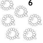 number six 6 tracing and coloring worksheets  (3)