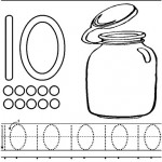 number ten 10 coloring and tracing worksheets  (1)