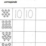 number ten 10 coloring and tracing worksheets  (10)