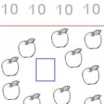 number ten 10 coloring and tracing worksheets  (4)