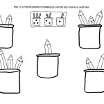 number three coloring and tracing worksheets (12)