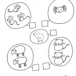 number three coloring and tracing worksheets (24)