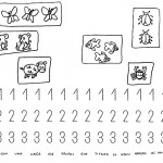 number three coloring and tracing worksheets (34)