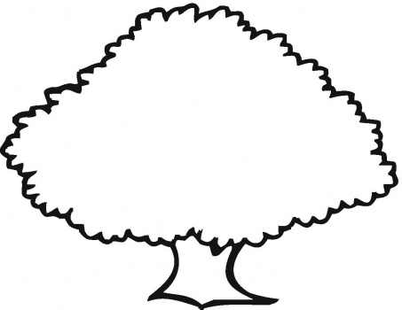 old-oak-outline-coloring-page