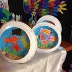 papaer plate fish craft