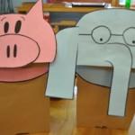 paper bag elephant craft