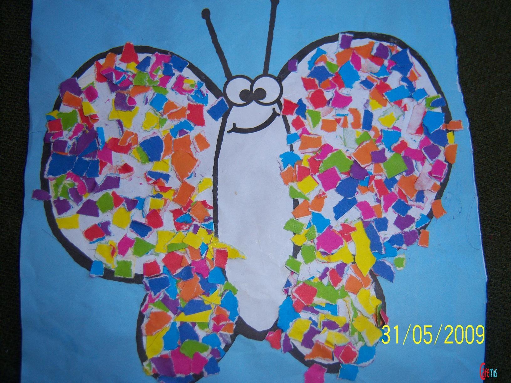 paper butetrfly craft