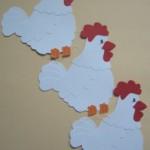 paper chicken craft