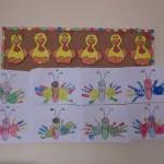 paper chicken craft for kid