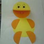paper craft duck