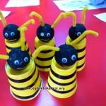 paper cup bee
