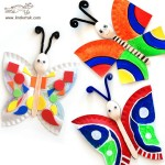 paper plate butterly