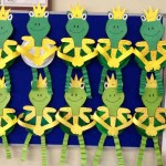 paper plate frog craft