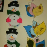 paper plate snowman crafts