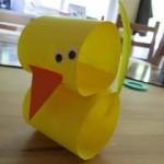 paper roll duck