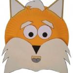 paper_plate_fox_craft_idea