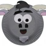paper_plate_goat_craft_idea