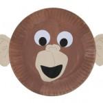 paper_plate_monkey_craft_idea