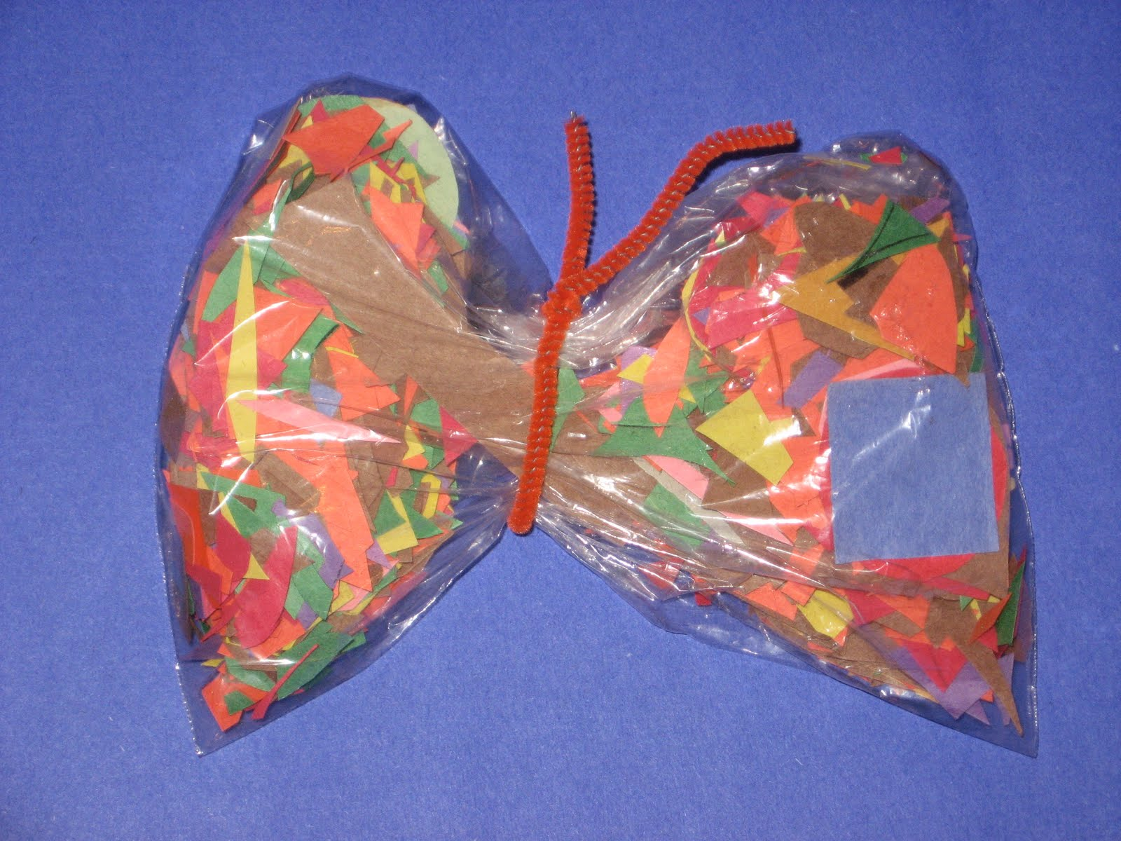 pilastic bag butterfly