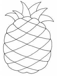 pineapple_coloring_pages