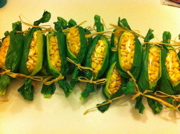 plastic bag corn