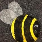 preschool bumble bee craft