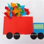 preschool transportation crafts