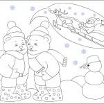 preschool winter season coloring page (2)