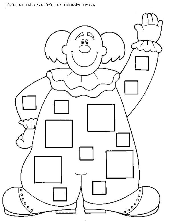 Square worksheets for preschool trace and color – Shape Worksheet for Kindergarten