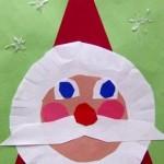 santa crafts for kid