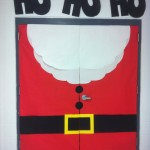 santa door clasroom