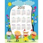 school-kids-flower-background-2015-Vector