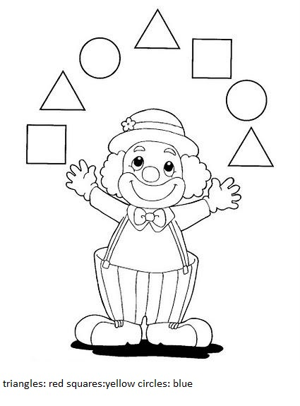 Number Names Worksheets shape worksheets for preschoolers : shape worksheets for preschool | Crafts and Worksheets for ...