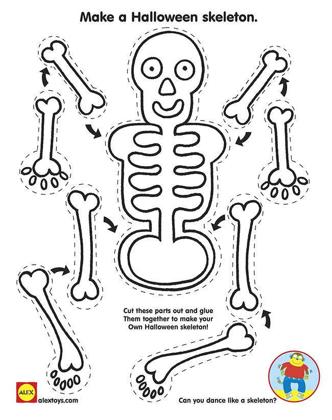 skeleton craft for kids (10)
