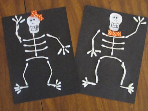 skeleton craft for kids (9)