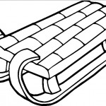 sled-coloring-pages