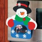 snowman frame craft