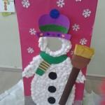 snowman project craft